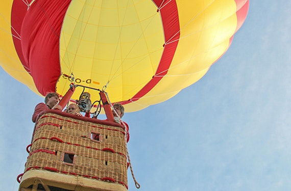 Romantische Ballonfahrt über die Rhön für 2