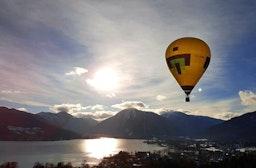 Romantische Ballonfahrt im Saarland für 2