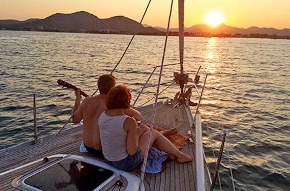 Segeltörn mit Romantik-Dinner auf Mallorca für 2