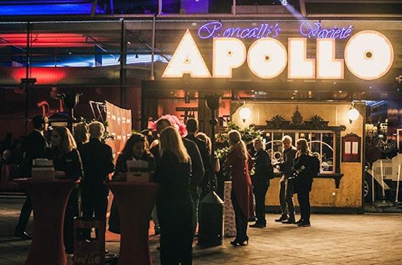 Varieté & Dinner in Roncalli's Apollo Theater Düsseldorf - Wintersaison