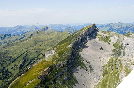 Alpen-Rundflug im Ultraleichtflieger