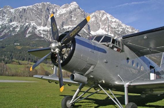 Flug zum Wallfahrtsort Mariazell