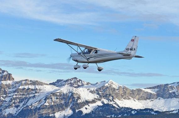 Rundflug im Ultraleichtflugzeug Schweiz (30 Min.)