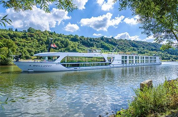 Luxuriöse Rhein-Schifffahrt für 2 Basel - Straßburg (3 Tage)