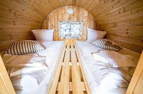 Übernachtung im Schlaffass in Niedersachsen für 2