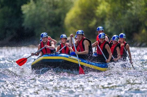 Schlauchboot-Tour in der Steiermark