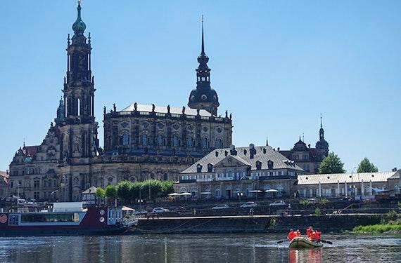 Schlauchboot fahren Dresden für 2 (3 Std.)