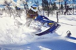 Schneemobil-Abenteuer in Lappland (4 Tage)