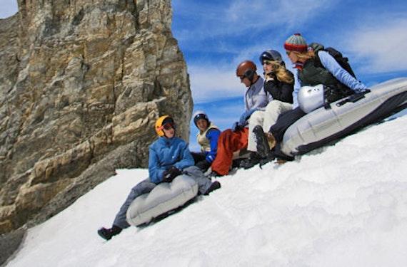 Schneeschuhtour & Freeride-Airboarding