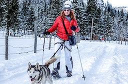 Husky-Schneeschuh-Trekking in Hohentauern