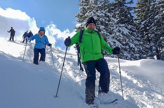 Schneeschuhtouren (4 Std.)