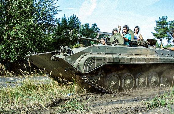 Schützenpanzer selber fahren (30 Min.)