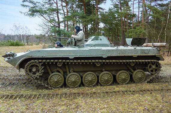 Schützenpanzer selber fahren bei Osnabrück (30 Min.)