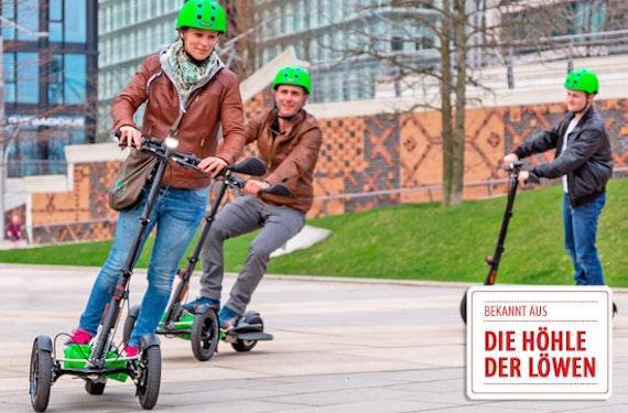 Scuddy fahren Hamburg-Hafen City