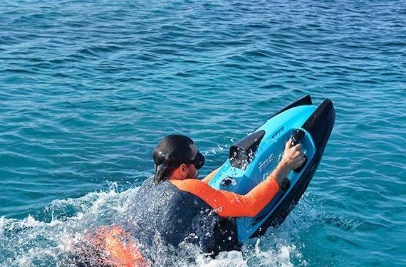 Iaqua/Seabob fahren auf Mallorca