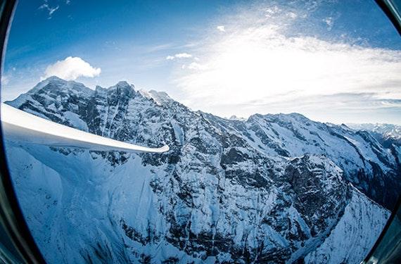 Segelflug zur Zugspitze ab Innsbruck