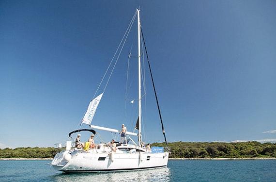 Schnupper Segelreise in der Adria
