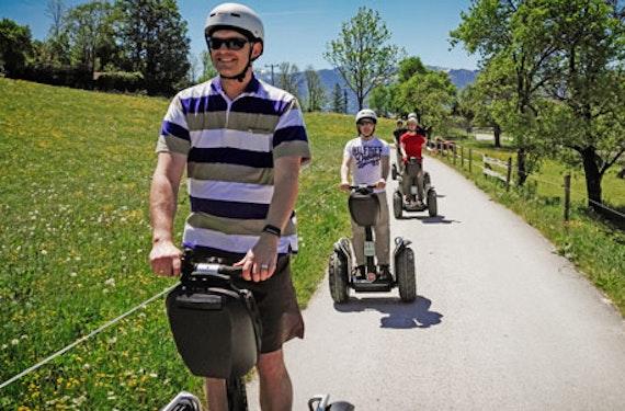 Segway Bergtour mit Alm-Einkehr