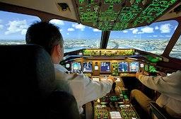 Flugsimulator Boeing 777 in Tübingen