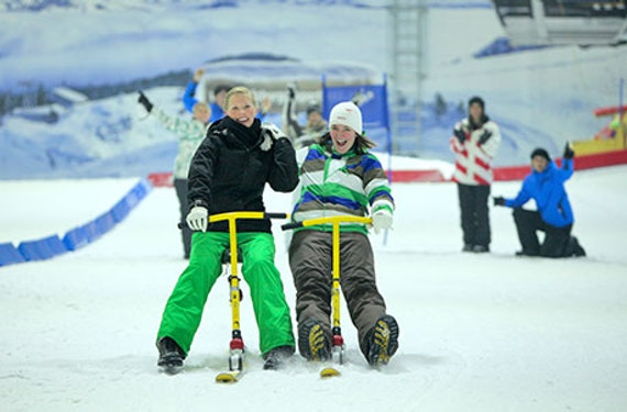 Snowbike-Kurs in der Skihalle Neuss für 2
