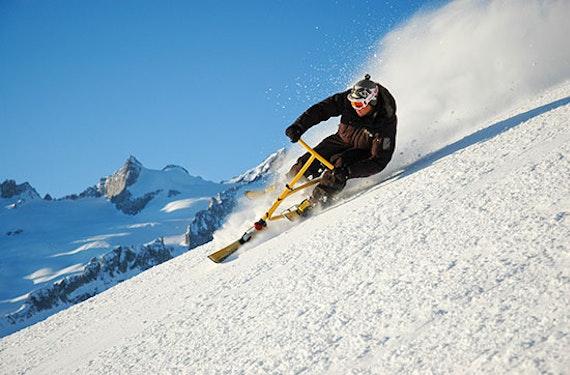 Snowbiking für 2