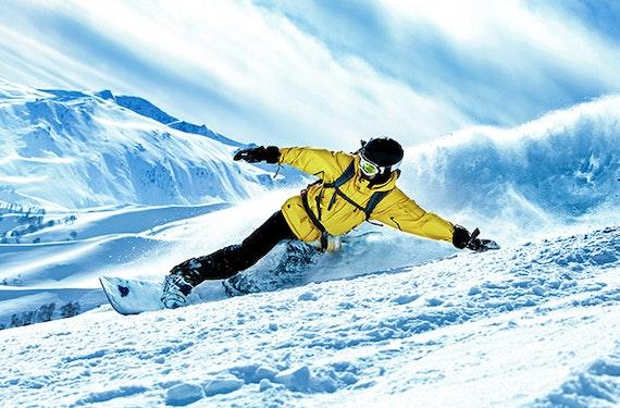Snowboard Einsteigerkurs auf der Winklmoosalm