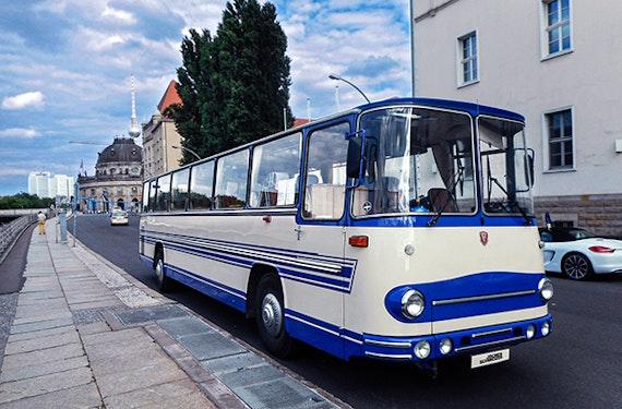Außergewöhnliche Stadtrundfahrt Berlin (West) im DDR-Oldtimer-Bus