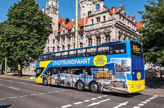 Stadtrundfahrt durch Leipzig