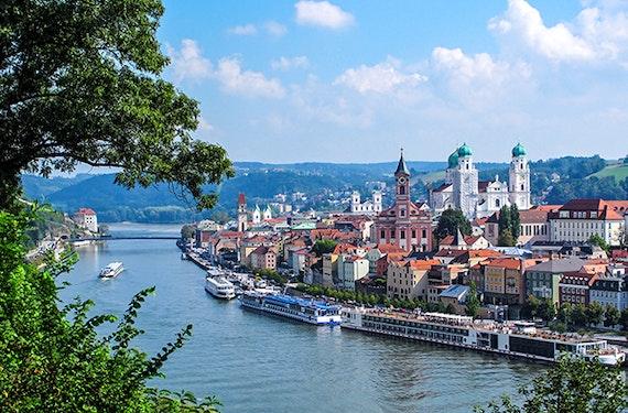 Städtetrip Passau mit Radverleih für 2 (1 Nacht)