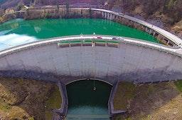 Bungee am Staudamm Klaus in Oberösterreich