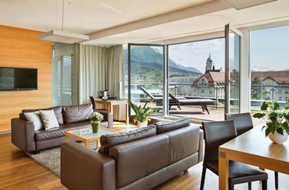 Suite-Übernachtung in Innsbruck für 2
