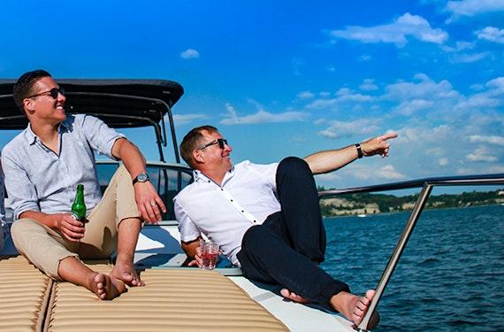 Motorboot fahren am Bodensee für 2