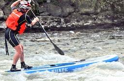 SUP-Rafting auf der Mur