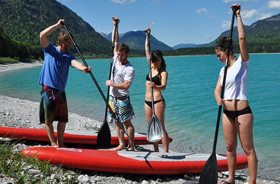 Stand Up Paddling Sightseeing-Tour
