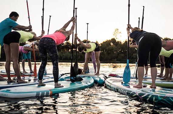 SUP Yoga Kurs Pirna (1 Std.)