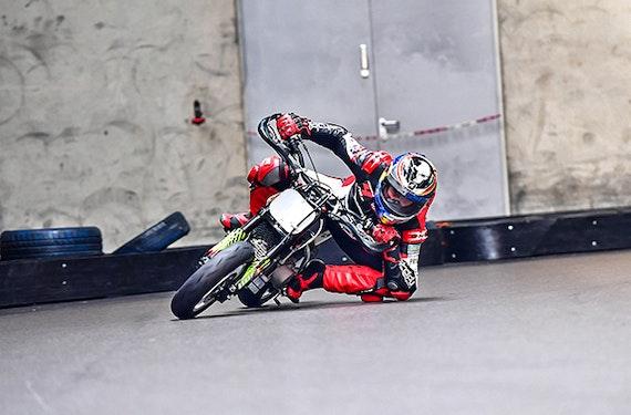 Supermoto Training mit Weltmeister Bernd Hiemer