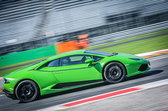 Lamborghini Huracán selber fahren Monza (2 Rdn.)