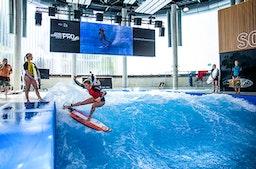 Surfen mit Starcoaching - Jochen Schweizer Arena
