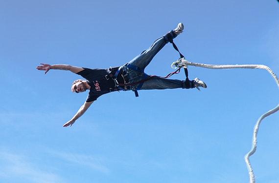 Tandem Bungee Jumping für zwei
