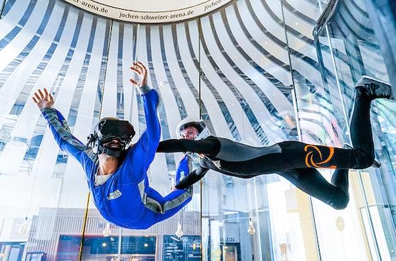 VR Bodyflying Base Jump für Erwachsene in Taufkirchen