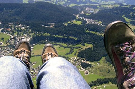 Gleitschirm-Thermikflug Schweiz