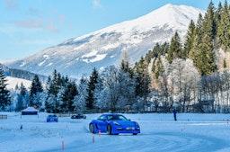 Eis Drift Training im Thomatal - Car Sharing