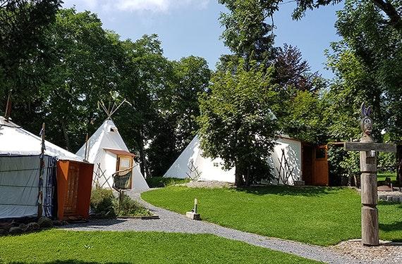 Tipi Übernachtung in Degersheim