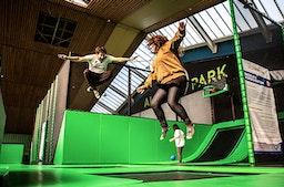 Trampolin Park für 2
