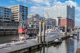 Außergewöhnlich Übernachten im Hafenkran Hamburg für 2 (1 Nacht)