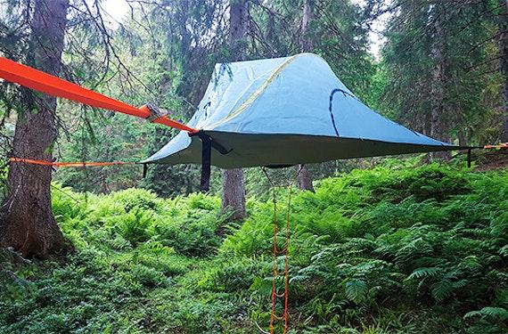 Übernachtung im Baumzelt in den Glarner Alpen für 2