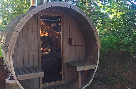 Übernachtung in der Nature Lodge in Bitterfeld-Wolfen für 4