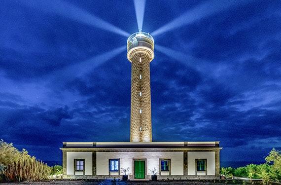 Außergewöhnlich Übernachten im Leuchtturm auf La Palma für 2 (2 Nächte)