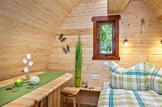 Übernachtung im CampingPOD für 4 (2 Nächte)