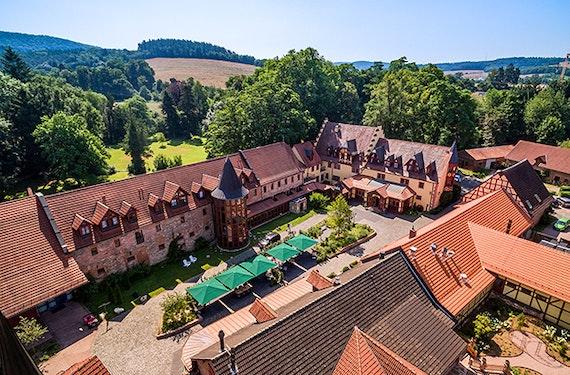 Übernachtung im Schlosshotel Weyberhöfe für 2